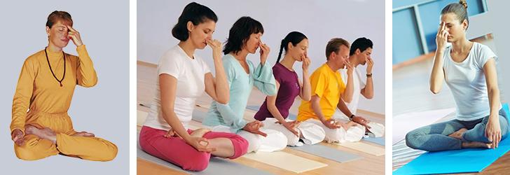 Пранаяма - дыхательные упражнения